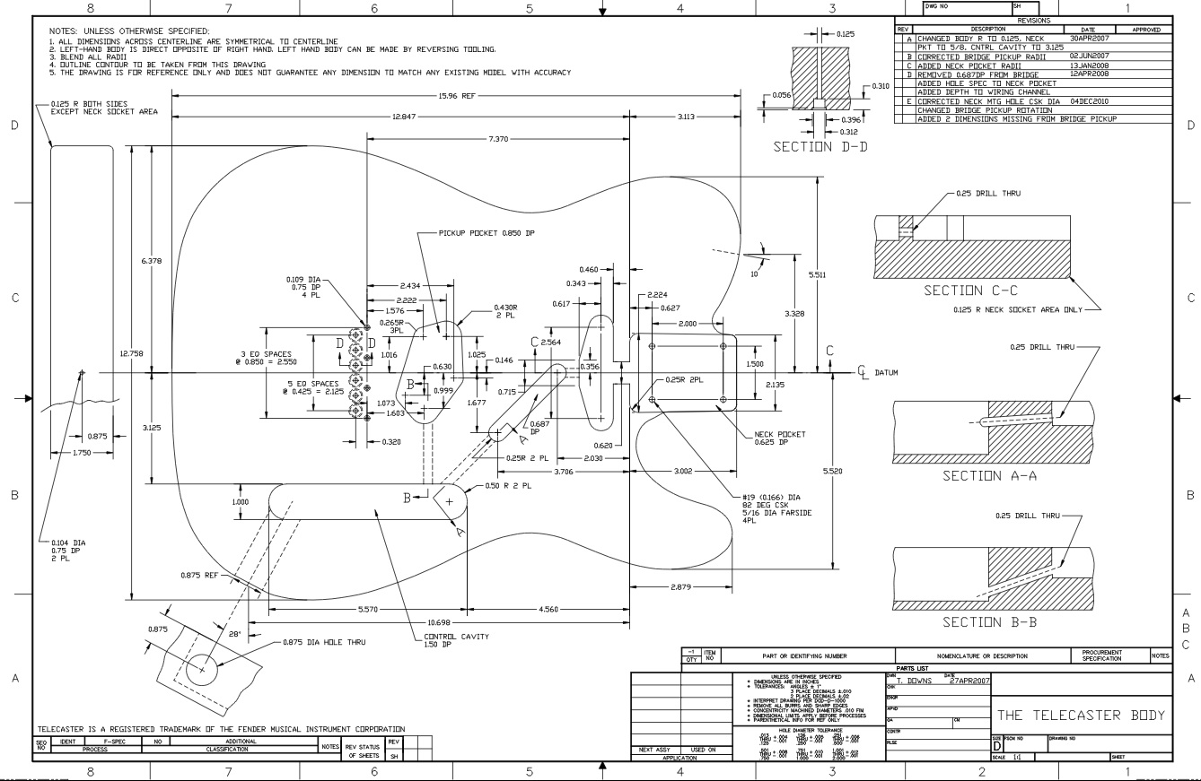 Telecaster Body Schematic Electrical Wiring Diagrams 72 Diagram Drawing I Found Greavesguitar Fender 3 Way